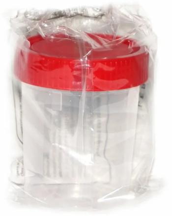 Контейнер для биоматериалов стерильный, 120 мл, одноразовый (-ая, -ое, -ые), 1шт.