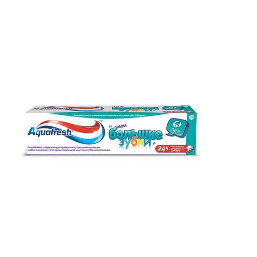 Aquafresh Мои большие зубки Зубная паста от 6 лет, паста зубная, 50 мл, 1шт.