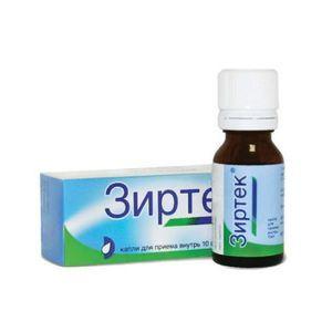 Зиртек, 10 мг/мл, капли для приема внутрь, 20 мл, 1шт.