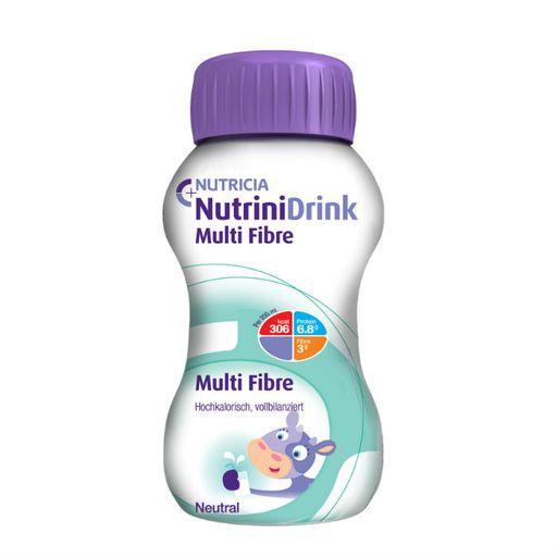 Nutrinidrink Multi Fibre с пищевыми волокнами, жидкость для приема внутрь, с нейтральным вкусом, 200 мл, 1шт.