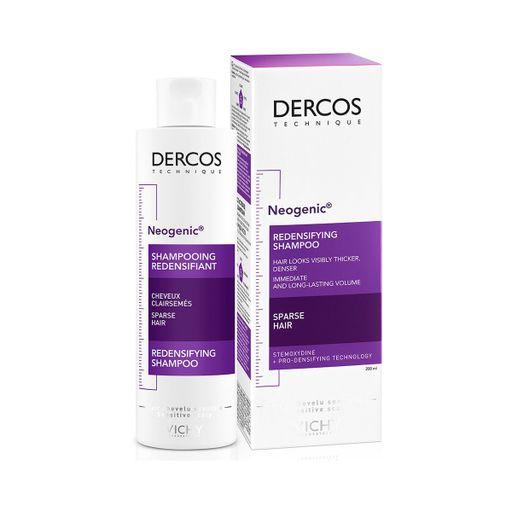 Vichy Dercos Neogenic шампунь для повышения густоты волос, шампунь, 200 мл, 1шт.