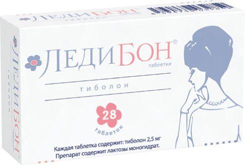 Ледибон, 2.5 мг, таблетки, 28шт.