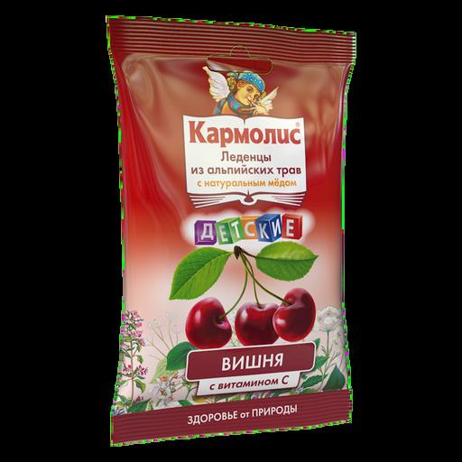 Кармолис Леденцы с медом и витамином С, леденцы, для детей, со вкусом вишни, 75 г, 1шт.