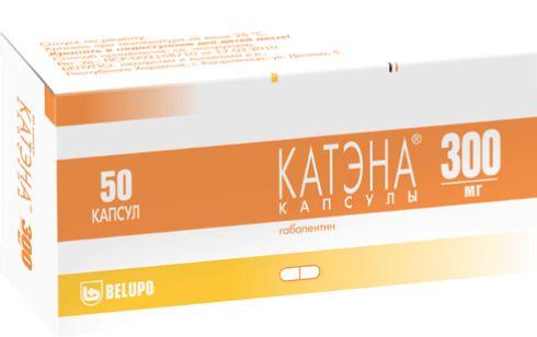 Катэна, 300 мг, капсулы, 50шт.