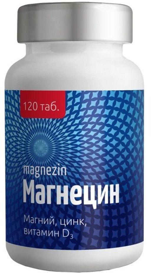 Магнецин, таблетки, 120шт.