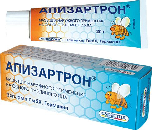 Апизартрон, мазь для наружного применения, 20 г, 1шт.