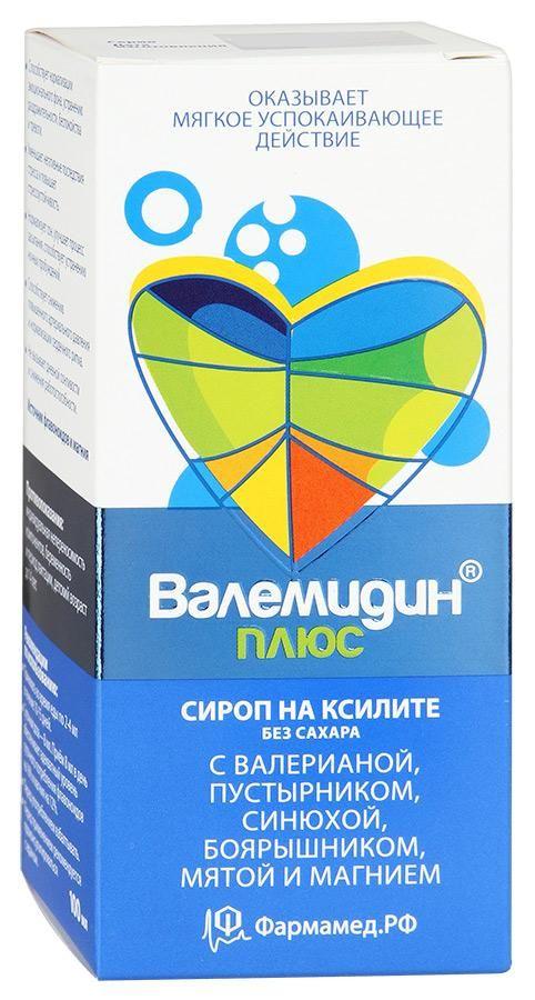 Валемидин плюс, сироп, без сахара, 100 мл, 1шт.