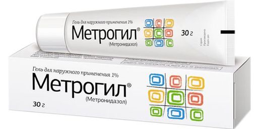 Метрогил (гель), 1%, гель для наружного применения, 30 г, 1шт.