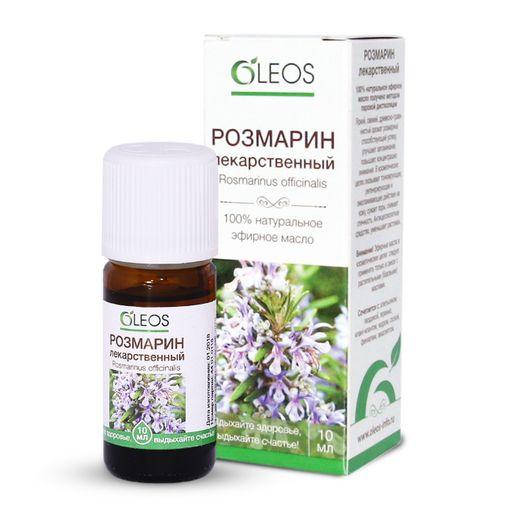 Oleos Розмарин Масло эфирное, 10 мл, 1шт.