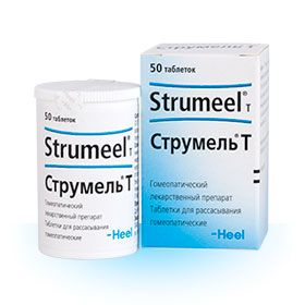 Струмель Т, таблетки для рассасывания гомеопатические, 50шт.
