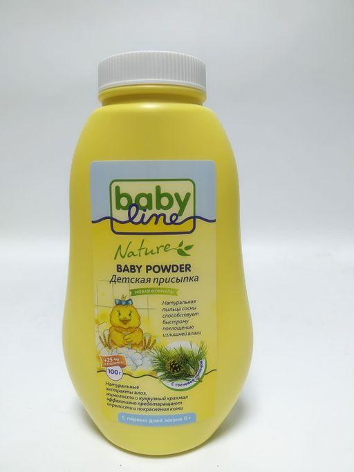 Babyline Детская присыпка с пыльцой сосны, 125 г, 1шт.