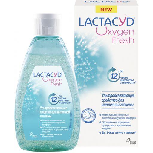 Lactacyd Oxygen Fresh Средство для интимной гигиены, гель, 200 мл, 1шт.