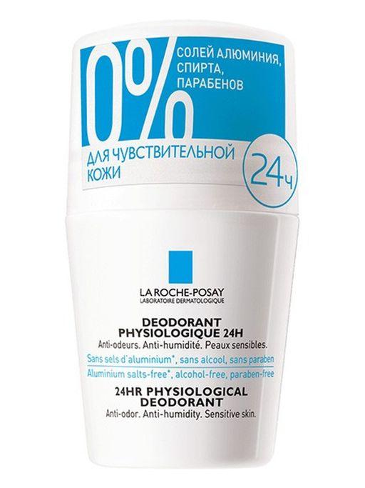 La Roche-Posay роликовый дезодорант 24 ч защиты, 50 мл, 1шт.