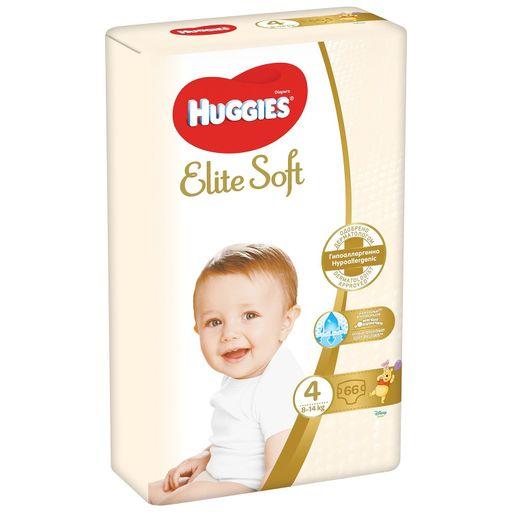 Huggies Elite Soft Подгузники детские, р. 4, 8-14 кг, 66шт.