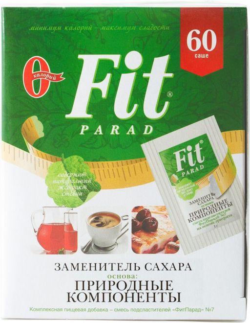 Fit Parad Заменитель сахара, №7, 60шт.