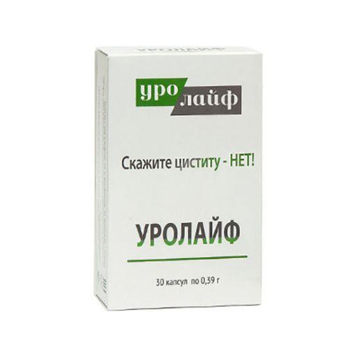Уролайф, 395 мг, капсулы, 30шт.