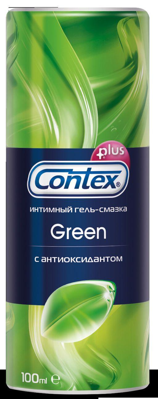Гель-смазка Contex Green, гель, антибактериальное, 100 мл, 1шт.
