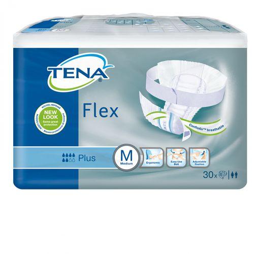 Подгузники для взрослых Tena Flex Plus, 71-102см, M, 6 капель, 30шт.
