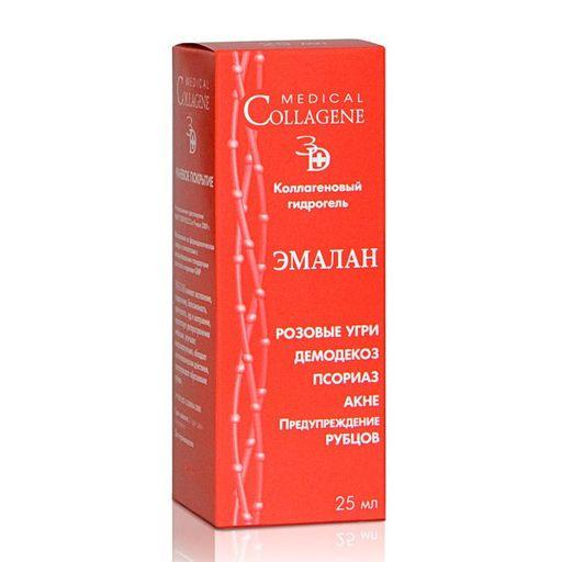 Эмалан Коллагеновый гидрогель, гель для местного и наружного применения, 25 мл, 1шт.