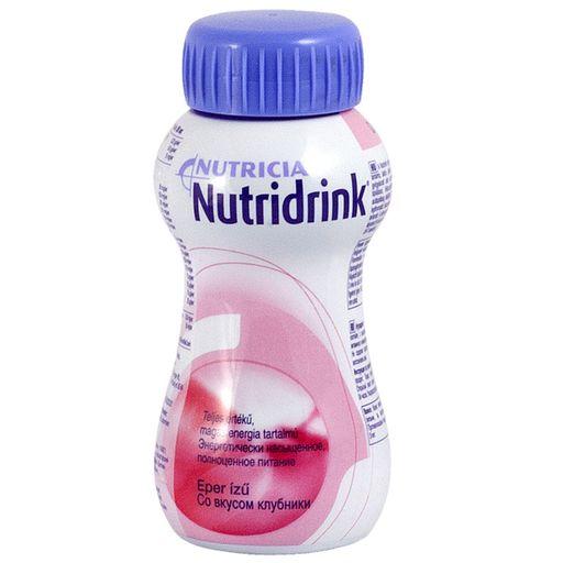 Nutridrink, жидкость для приема внутрь, со вкусом клубники, 200 мл, 1шт.