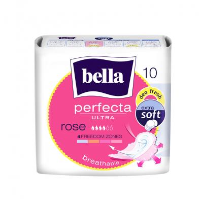 Bella perfecta ultra Rose прокладки супертонкие, прокладка, 10шт.