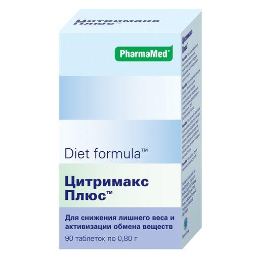 Diet formula Цитримакс плюс, 0.8 г, таблетки, 90шт.