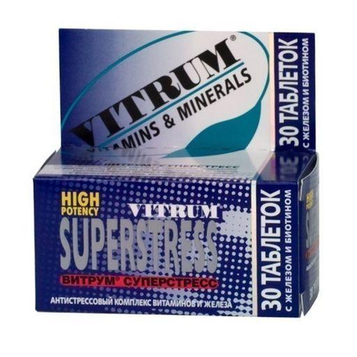 Витрум Суперстресс, таблетки, покрытые пленочной оболочкой, 30шт.