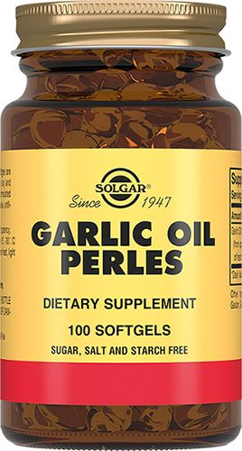 Solgar Чесночное масло Перлес, капсулы, 100шт.