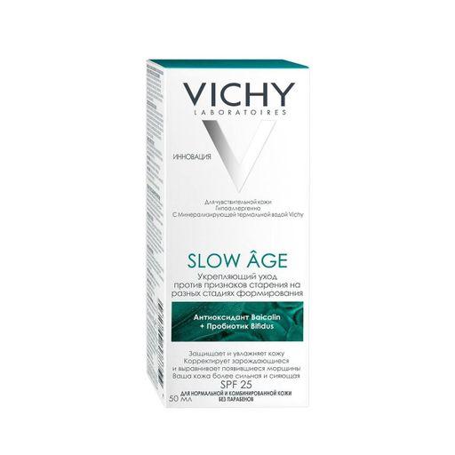 Vichy Slow Age флюид для всех типов кожи SPF25, крем для лица, 50 мл, 1шт.