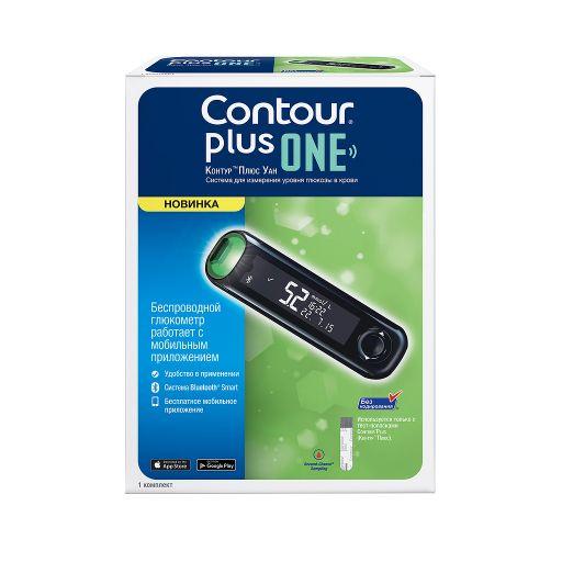Contour Plus One Глюкометр, 1шт.