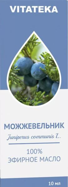 Витатека Масло Можжевеловое эфирное, масло эфирное, 10 мл, 1шт.