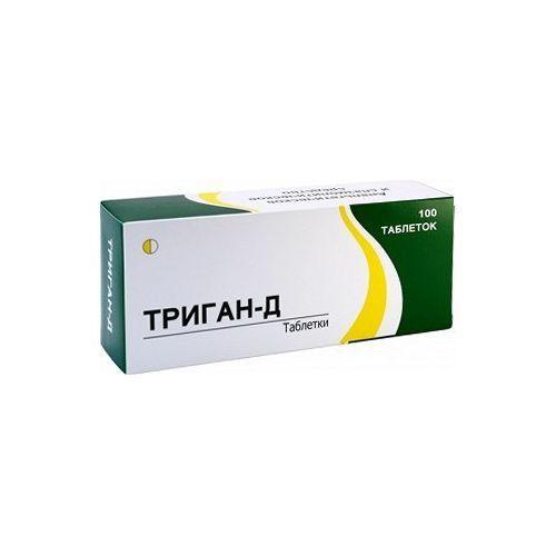 Триган-Д, таблетки, 100шт.