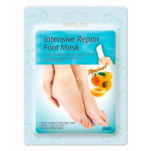 Skinlite маска-носки для ног интенсивное восстановление, маска для ног, пара, 1шт.