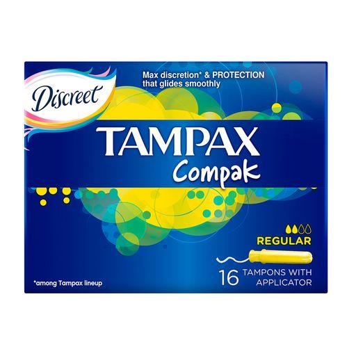 Tampax Compak regular тампоны с аппликатором, 16шт.