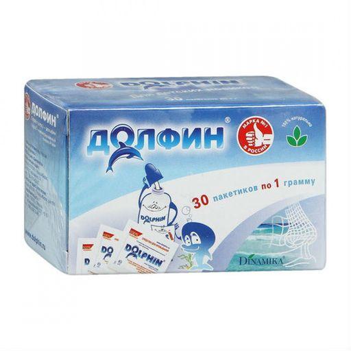 Долфин средство для промывания полости носа и горла для детей, 1 г, 30шт.