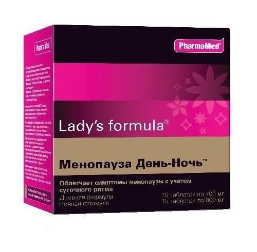 Lady's formula Менопауза День-Ночь, таблеток набор, 30шт.