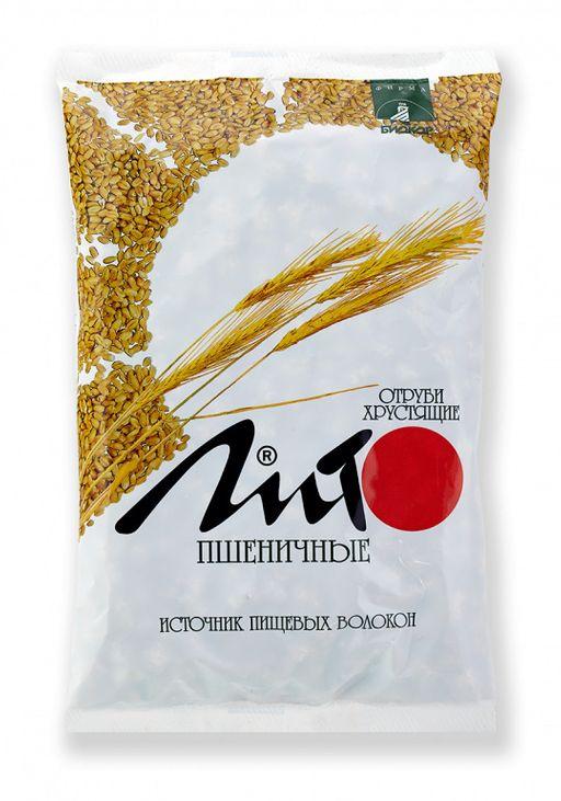 Отруби хрустящие с кальцием Лито пшеничные, гранулы, 200 г, 1шт.