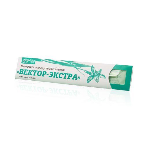 Контрацептив внутриматочный Вектор-экстра спираль AG 400Т, контрацептив внутриматочный, Т-образный, 1шт.