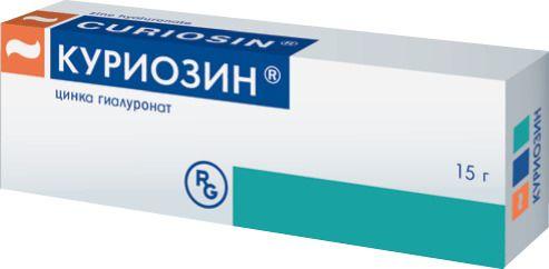 Куриозин, 0.103%, гель для наружного применения, 15 г, 1шт.