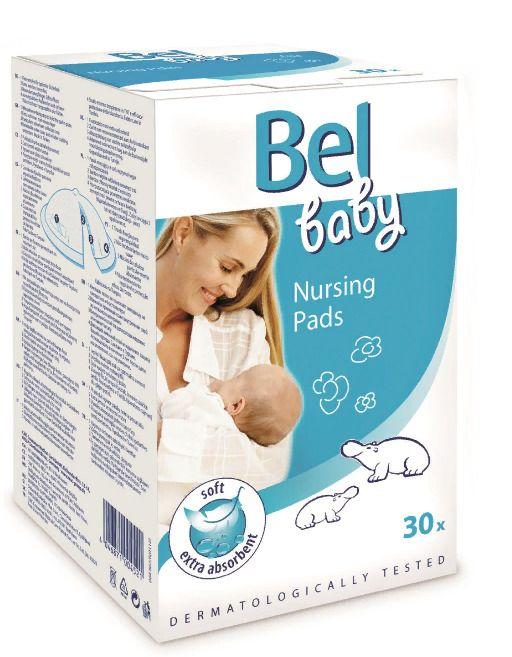 Bel Baby Вкладыши в бюстгальтер для кормящих мам, 30шт.
