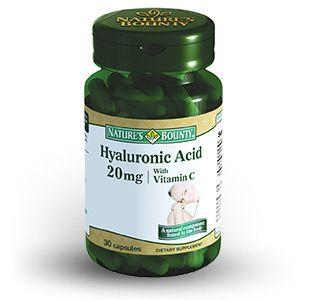 Natures Bounty Гиалуроновая кислота 20 мг, 20 мг, капсулы, 30шт.