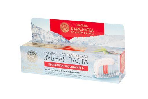 Natura Kamchatka Зубная паста для профилактики кариеса, паста зубная, 100 мл, 1шт.