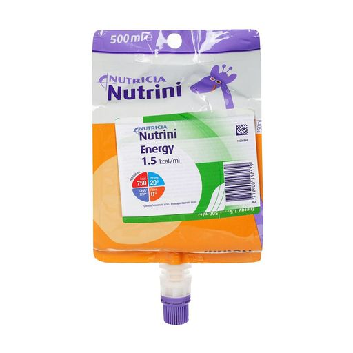 Nutrini Energy, смесь для энтерального питания, 500 мл, 1шт.