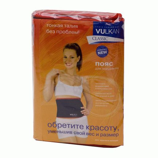 Vulkan classic пояс для похудения, 100х19 см, стандарт, 1шт.
