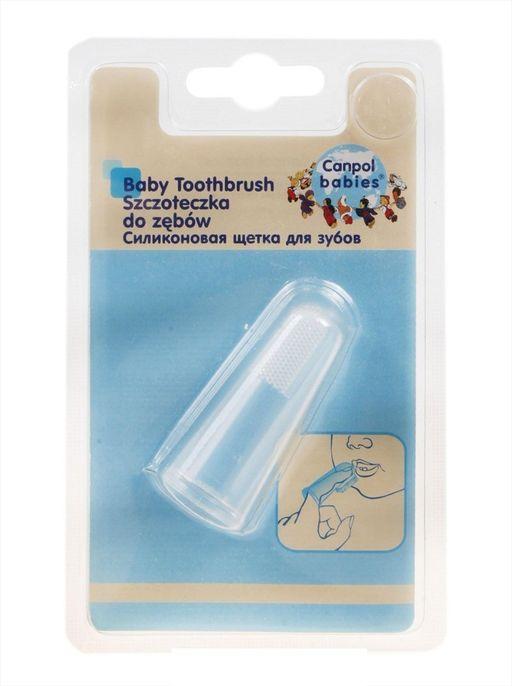 Canpol силиконовая щётка для зубов, 1шт.