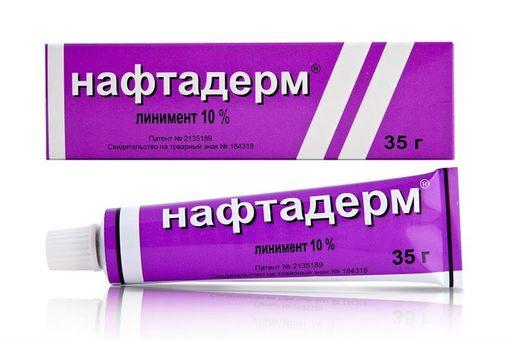 Нафтадерм, 10%, линимент, 35 г, 1шт.