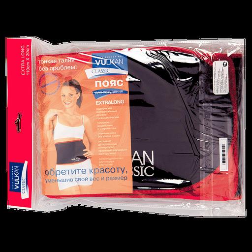 Vulkan Classic Extralong пояс для похудения, 110х20 см, 1шт.