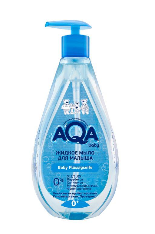 AQA baby жидкое мыло для малыша, 400 мл, 1шт.