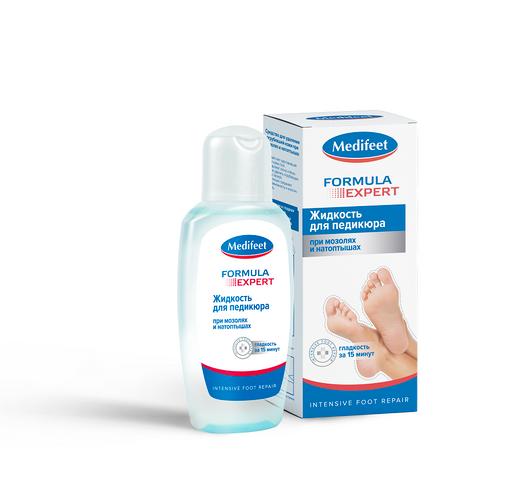 Medifeet средство для удаления огрубевшей кожи, жидкость для местного применения, 150 мл, 1шт.