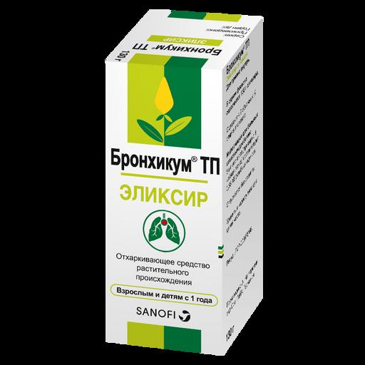 Бронхикум ТП, эликсир, 130 г, 1шт.